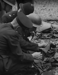 The officials have arrived (theirhistory) Tags: uk england grass uniform shrapnel