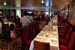 Norwegian Gem Tour: Magenta Dining Room (Fred_T) Tags: cruise restaurant ship tour room magenta dining gem ncl norwegiancruiseline