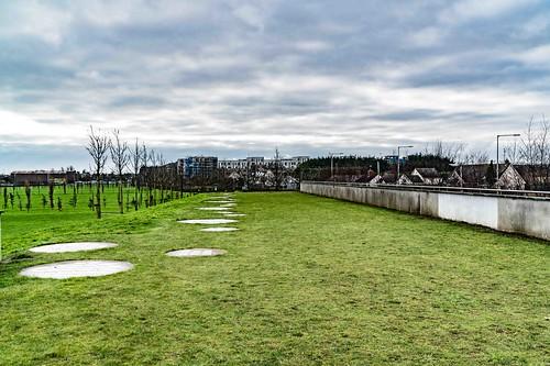 Wind Powered Public Park In Clongriffin Dublin [Father Collins Park]-110992
