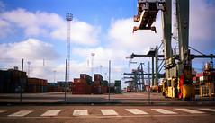 Port 03 (The original SimonB) Tags: film port suffolk july scanned 1991 felixstowe
