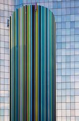 Chemine Moretti. La Dfense, Paris (jjcordier) Tags: architecture immeuble dfense moretti chemine quartier puteaux affaires