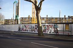 Blackfriars Circus - Southwark, London (SE9 London) Tags: uk winter england london bike canon project cycling construction highway britain united great january kingdom super cycle lane gb scheme development superhighway southwark se1 lanes segregated