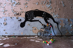 Ce soir c'est la Fête.... (www.jeanpierrerieu.fr) Tags: urban abandoned italia decay forbidden forgotten exploration italie urbex urbaine abandonné colorno asile friche explorationurbaine psichiatrico psychiatrique wwwjeanpierrerieufr