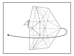 USS Enterprise diagramming (Mdanger217) Tags: origami diagram enterprise uss inkscape