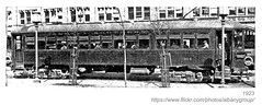 1923 albany southern railroad car (albany group archive) Tags: albany ny 1923 southern railroad car train oldalbany history 1920s old vintage photos photographs historic historical