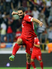 Arda Turan big balls (seXyTurX) Tags: barcelona turkey football team soccer balls national fc turkish turk bulge ardaturan