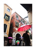 Umber-ell-ahs (icypics) Tags: venice italy colour rain weather silhouette architecture umbrella arch perspective streetphotography highkey
