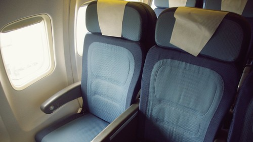 Onboard B737-300 Economy Class - Air New Zealand