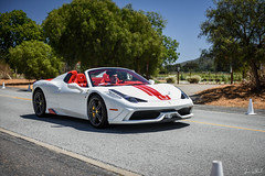 Aperta. (JWheel Photos) Tags: california ferrari exotic carmel supercar speciale aperta 458 a thequaillodge