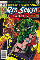 Red Sonja 9 (micky the pixel) Tags: horse monster comics comic marvel pferd chariot heft redsonja frankthorne kampfwagen firestallions