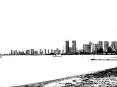 Surfers Paradise (Thunder1203) Tags: blackandwhite monochrome queensland stark surfersparadise hikey