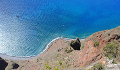 View from the Cabo Girao viewing platform (Mark Wordy) Tags: island coast cliffs madeira bluesea cabogirao