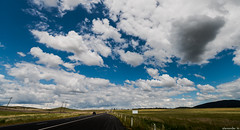Road to Jindabyne (delayedflight) Tags: road sky panorama storm clouds landscape nikon australia panoramic farmland nsw cloudscape circular cpl airfield d800 lightroom jindabyne polariser 1424 vsco 1424mm nikon1424mmf28afsgedn vscofilm