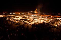 Djemaa el Fna - Mercat nocturn (Mateu Tomas) Tags: djemaaelfna marrakesh marrakech marroc morocco mateutomas marruecos maroc plaza mercado plaa mercat market square