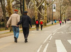 Step in Time (ZoK) Tags: outdoors togetherness centralpark couples relationship health elderly intimate walkers mindful