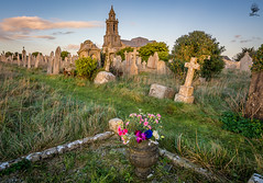''Remembrance'' (marcbryans) Tags: flowers panorama church monument graveyard landscape outdoors path wideangle gravestone remembrance historicbuilding portlanddorset tokina1116mm nikond7100