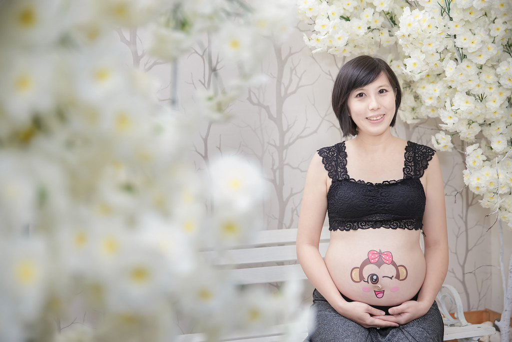 孕婦寫真,孕婦攝影,蘿絲可可,孕婦棚拍,Doris083
