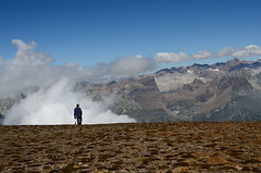 Pizzo Diei (gramignacosy) Tags: panorama mountain clouds landscape nuvole piemonte montagna paesaggio vco ossola valdivedro pizzodiei ecsursionismo