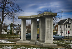 Ocean Grove WWII Memorial (Mark ~ JerseyStyle Photography) Tags: newjersey worldwariimemorial 2016 oceangrovenj markkrajnak jerseystylephotography march2016