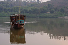Boat, Huai Xay, Lao, Laos (ARNAUD_Z_VOYAGE) Tags: street city building art beach nature architecture landscape asia state action country capital southern portion southeast laos peninsula region rpublique department lao indochina municipality populaire dmocratique