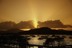 Window for Tomorrow (Bernai Velarde-Light Seeker) Tags: ocean sunset sea sun sol america atardecer pier muelle mar centro central yates oceano yatchs velarde bernai