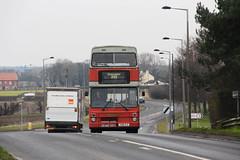 Selwyn Motors 292 Belton-Doncaster F810 YLV 27th February 2016 (1) (asdofdsa) Tags: travel bus buses transport busstop passengers hatfield belton jubileebridge doncaster owstonferry selwynmotors barrydodds 1989mcwmetrobusii 27thfebruary2016