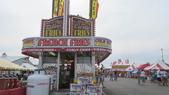 french fries (timp37) Tags: county summer sign french potatoes july indiana fair fries ribbon porter 2015