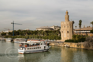 Seville Jan 2016 (5) 602 - The Torre del Oro, a dodecagonal military watchtower