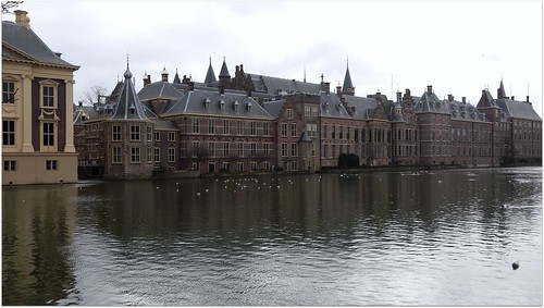 Hofvijver den haag / Hofvijver The Hague.
