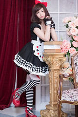 P76_010 (ms09Dom) Tags: cosplay コスプレ 五木あきら itsukiakira ブラックアリス studioazure