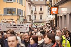2016 Rassemblement2 (Damien Comte) Tags: de mayor pont savoie manifestation maire isère rassemblement guiers beauvoisin