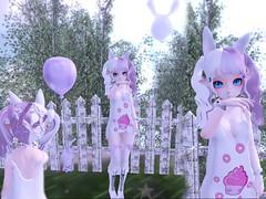 colorful day ^^ (Yukiterudiary) Tags: anime project colorful avatar sl secondlife kawaii m3 haro lcky kemono tamagosenbei katat0nik
