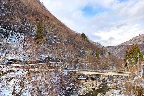 冬の蒲田川