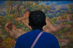 Museo d'Orsay 1 (Matthew Sun) Tags: paris colors museum work painting artist picture muse impressionism subject museo moment orsay understanding connection rational brushstrokes renoir parigi musedorsay interpretation impressionismo museodorsay thebathers