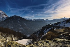 Sestriere 8 (___Oscar___) Tags: sunset italy mountain snow canon landscape eos photo europa europe shoot italia ray picture wideangle 1855 sestriere 70d