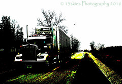 Expected (HTT) (13skies) Tags: travel speed truck big driving wheels fast move wheeler roads 18 freight carry trucking haul htt happytruckthursday