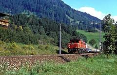 1020 006  Kitzbhel  22.09.89 (w. + h. brutzer) Tags: analog train austria sterreich nikon eisenbahn railway zug trains locomotive 1020 bb lokomotive kitzbhel elok eisenbahnen eloks webru