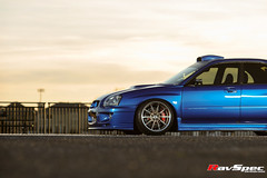 "WEDS Maverick 710S - Subaru STI 04 Blue • <a style=""font-size:0.8em;"" href=""http://www.flickr.com/photos/64399356@N08/25869489394/"" target=""_blank"">View on Flickr</a>"