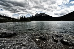 DSC_0243_edited-1 (Michael Mckinney (Find my Twitter @MMckinneypho) Tags: canada mountains nature water clouds landscape rockies scenery moody angle wide alberta