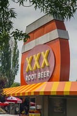 XXX Root Beer Issaquah WA (Don Thoreby) Tags: usa vintage memories pacificnorthwest storefronts olddays yesteryear earlydays seattlewashington