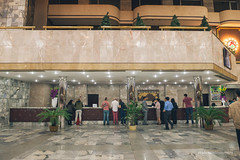 Yanggakdo Hotel (reubenteo) Tags: city democracy scenery war communist communism kimjongil socialist metropolis socialism northkorea pyongyang dprk reunification kimilsung kimjongun