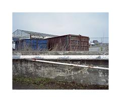 ** (ha*voc) Tags: urban 120 film mediumformat industrial urbandecay rangefinder 6x7 zaandam urbanfragments mamiya7ii kodakportra160