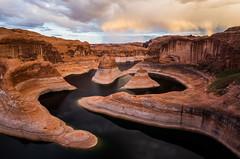 Reflection Canyon Rainbow (geekyrocketguy) Tags: camping camp arizona lake utah hiking hike backpacking backpack powell reflectioncanyon