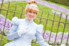 Cinderella (Disneyland_lover) Tags: disneyland disney cinderella disneyprincess disneycastmembers disneyshow disneyphotography disneyprincessmeetandgreetcharacters