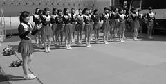 Cheerleaders-3 (Bill Morgan) Tags: bw tokyo fuji cheerleaders fujifilm kichijoji jpeg acros 18mm ooc xpro2 lightroomcc
