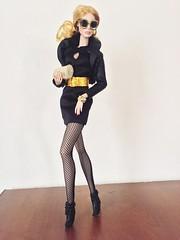 Agnes Von Weiss (super.star.76) Tags: black hot fashion toys doll dolls dress head von blonde agnes mold fashionista weiss royalty puppe integrity