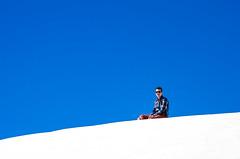 Hugo 3 - Scala dei Turchi (Oliflyer) Tags: portrait mer bleu blanc couleur italie sicile scaladeiturchi