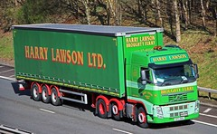 VOLVO FH - HARRY LAWSON Broughty Ferry Angus (scotrailm 63A) Tags: trucks lawson lorries