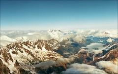 Across Mont Blanc (Katarina 2353) Tags: winter panorama mountain snow france alps film landscape nikon europe chamonix katarinastefanovic katarina2353