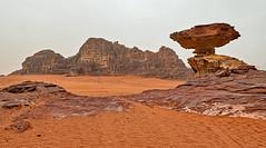 Balanced Rock - Wadi Rum (BlueVoter - thanks for 1.3M views) Tags: desert wadirum jordan valley rockformation